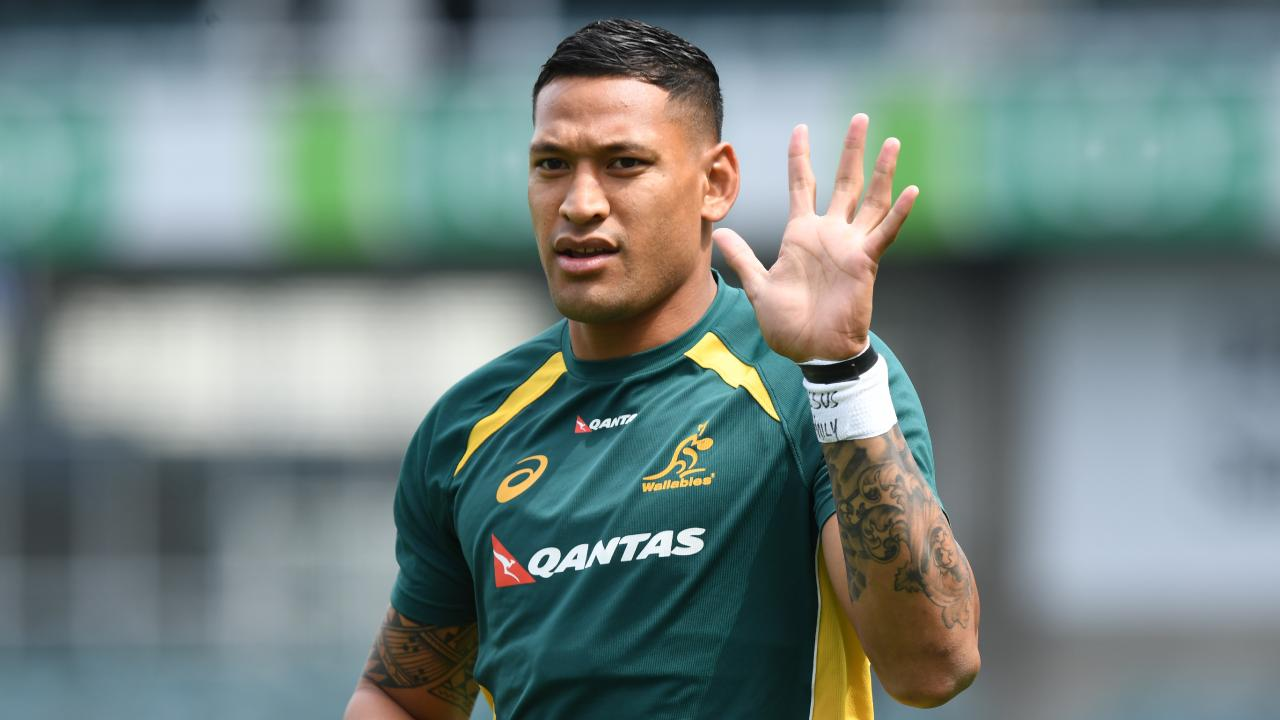 Israel Folau has caused a storm in saying gay people are destined to go to hell unless they repent.
