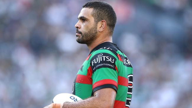 The Rabbitohs' Greg Inglis was racially abused after the round two game at Penrith Stadium.