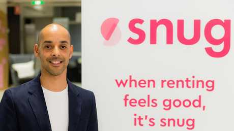 Justin Butterworth of rental start up Snug.