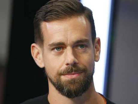 Jack Dorsey has hit out at Donald Trump. Picture: Supplied