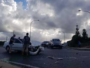 PHOTOS: Bruxner Highway crash causes traffic chaos