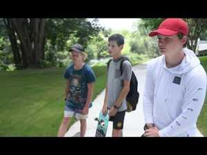 Imbil Teen talks about Jacob's Skate Park
