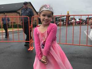 Little princess awaits royal visit