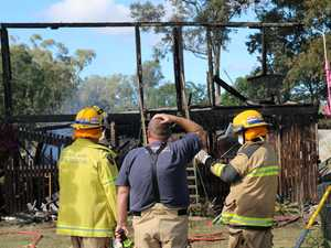 Home 'too destroyed' for fire investigators to find cause