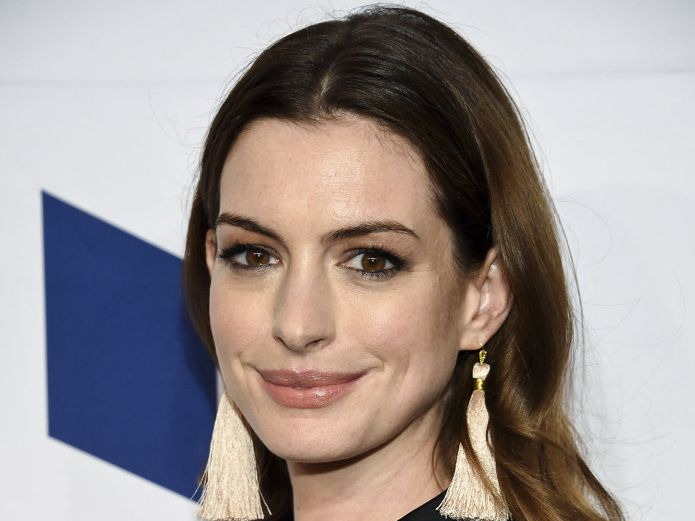 Anne Hathaway has gotten candid about her weight on Instagram.