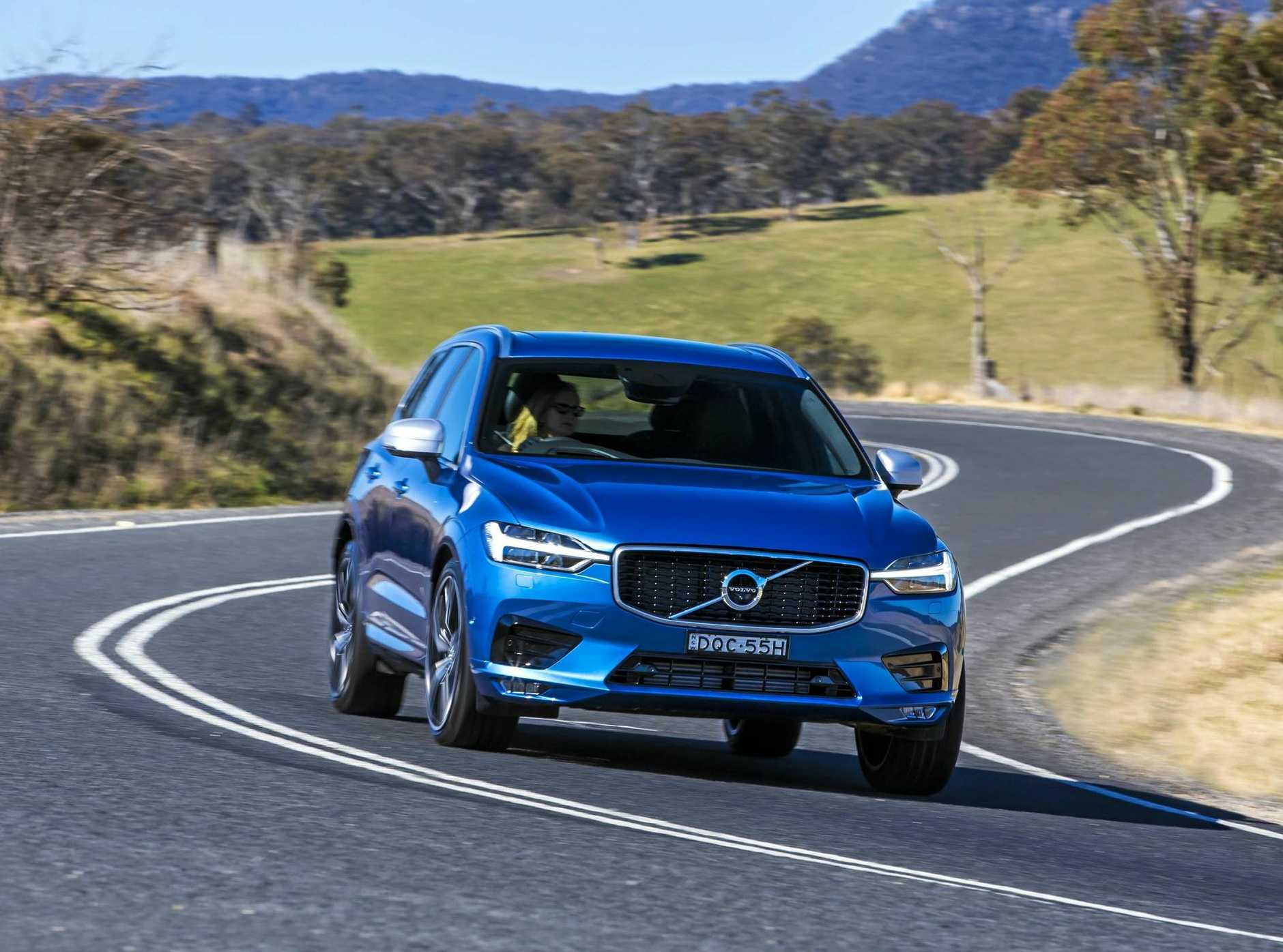 The Volvo XC60 is available in three variants - Momentum, Inscription and the dynamic R-Design - starting from $59,990.