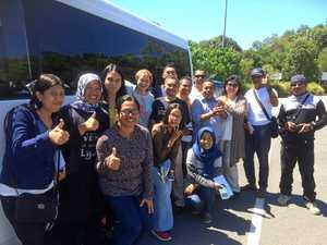 SCU knowledge shared with Indonesian visitors