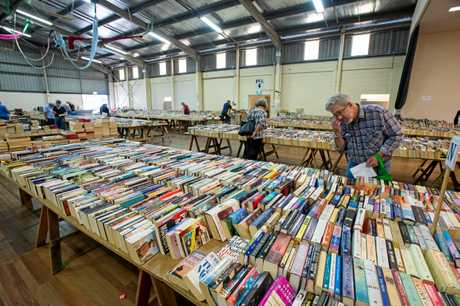 Bookfest at Coffs Harbour showgrounds.. 03 April 2017