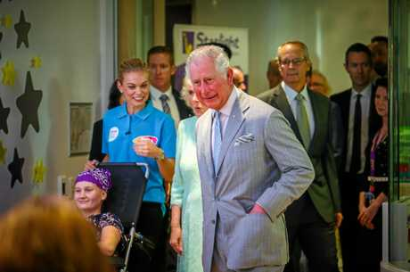 Prince Charles snaps at reporter's 'crap' question