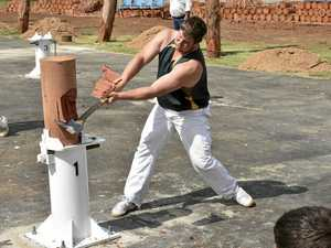 Axemen ready to compete at Toowoomba Show