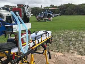 Boys injured after ride-on mower and quad accidents