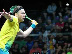 Urquhart, Pilley advance; Cuskelly, Nunn out of squash