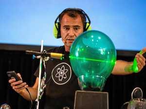 Scientist rides success wave