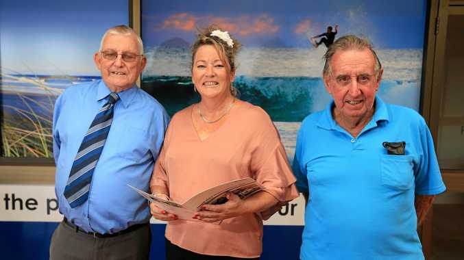 CELEBRATE: Ian Charlton, Penny Hockings and Les Hardy are looking forward to Seniors Festival.