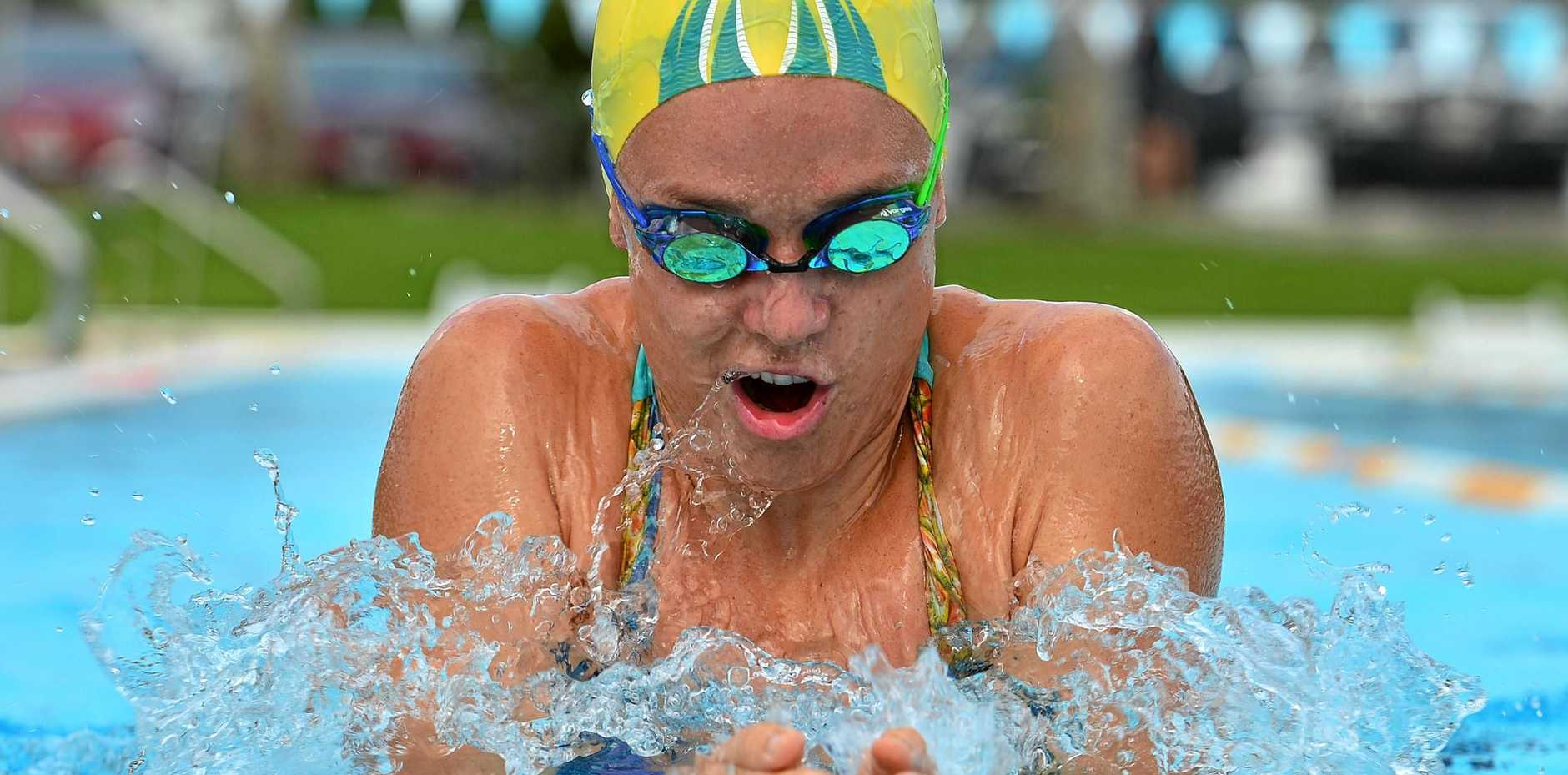 DIVE IN: Tessa Wallace will compete in the 200m breaststroke during what is her third Commonwealth Games appearance today on the Gold Coast.