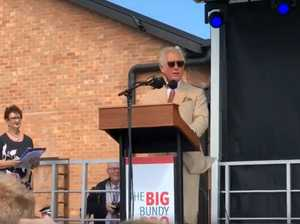 PRINCE CHARLES IN BUNDY: HRH makes moving speech