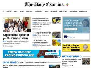 How to get The Daily Examiner's top stories first
