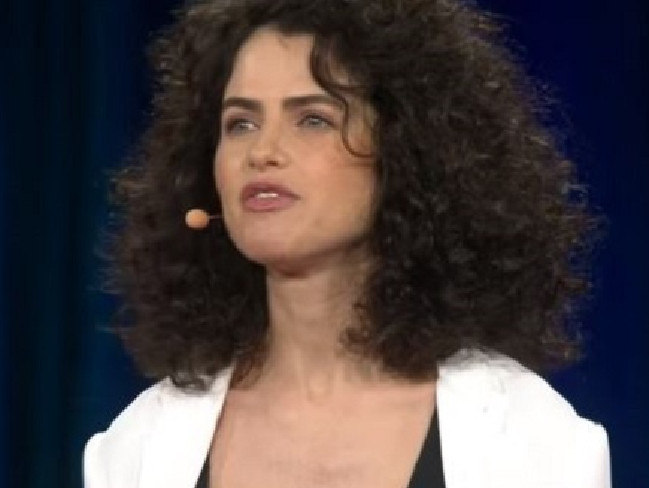 Brad Pitt is reportedly spending time with MIT Professor Neri Oxman. Picture: YouTube
