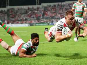 Dragons down gallant Bunnies to stay unbeaten