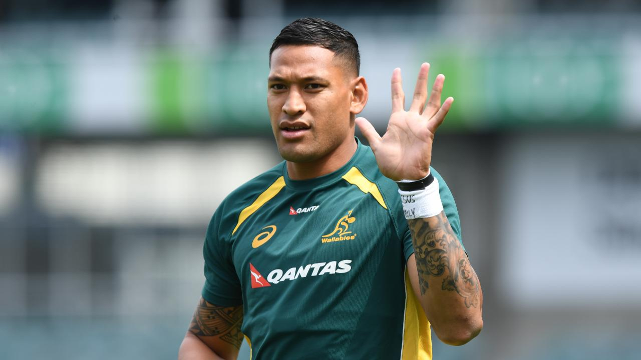 Israel Folau is under fire again over his comments about homosexuality.