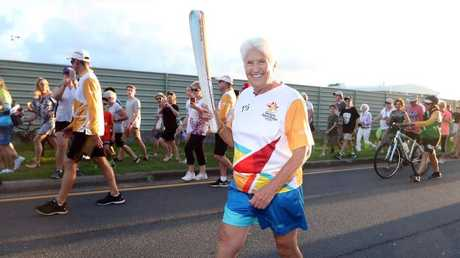 Dawn Fraser praised Cate for her incredible performance in the relay.