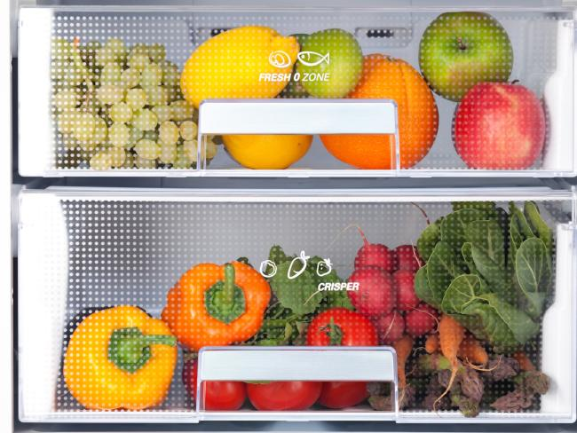 Keep your fruit and veg drawers full and you're a long way to changing your snacking habits.
