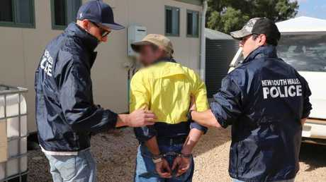 Eight people have been arrested in three states during dramatic raids. Eight people arrested over alleged historic and ongoing child abuse