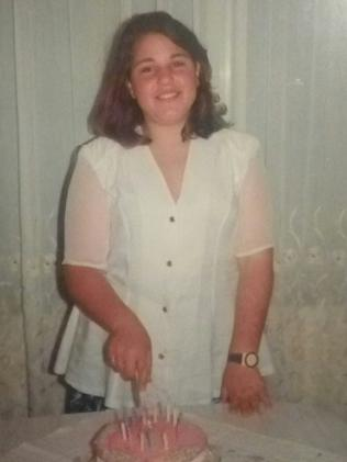 She was just 13 when she decided to put on weight.