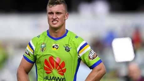 Jack Wighton is potentially facing the sack from the Raiders.