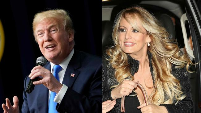 US President Donald Trump said he doesn't know about money paid to actress Stephanie Clifford, who uses the stage name Stormy Daniels who claims she had an affair with him. Picture: Mandel Ngan AFP./ Joe Raedle Getty Images