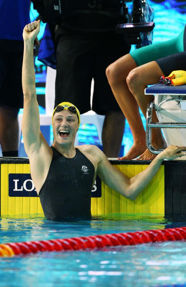 Jenny felt massive relief for Cate after her success on day one on the Gold Coast.