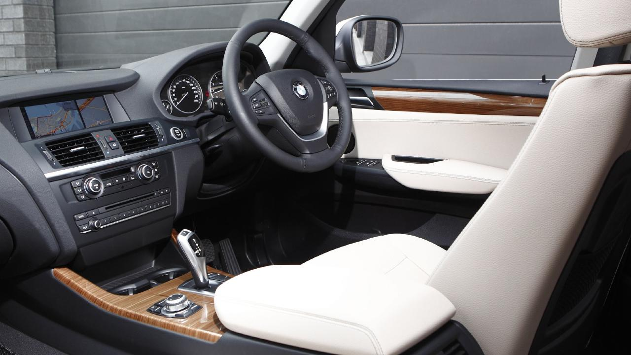 Plush: standard kit included a leather appointed cabin, colour screen and rear camera.
