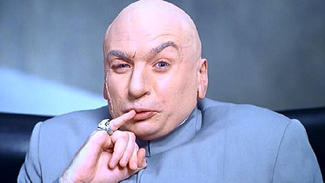 Dr Evil made a comeback, 16 years later.