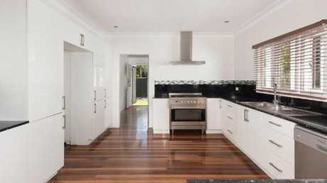 The kitchen at 296 Ferguson Rd, Seven Hills. Picture: realestate.com.au.