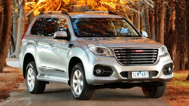 A fair dinkum 4WD: the Haval H9 can mix it with some of the more pricey off-roaders.