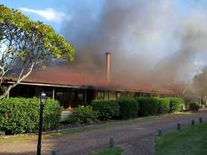 Crews called to fire at historic Lockyer Valley resort