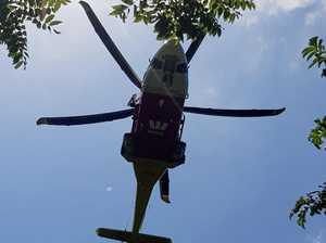 Rescue chopper tasked to bushwalker in need