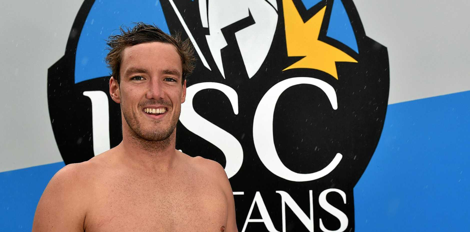 Nine University of the Sunshine Coast swimmers have been selected to represent Australia at the Commonwealth Games. Blake Cochrane.