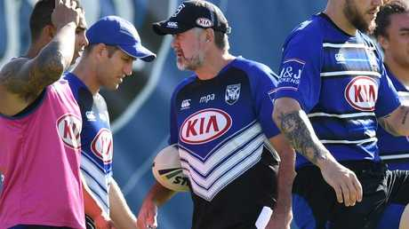 Bulldogs coach Dean Pay will oversee a new-look line-up. (AAP Image/Dean Lewins)