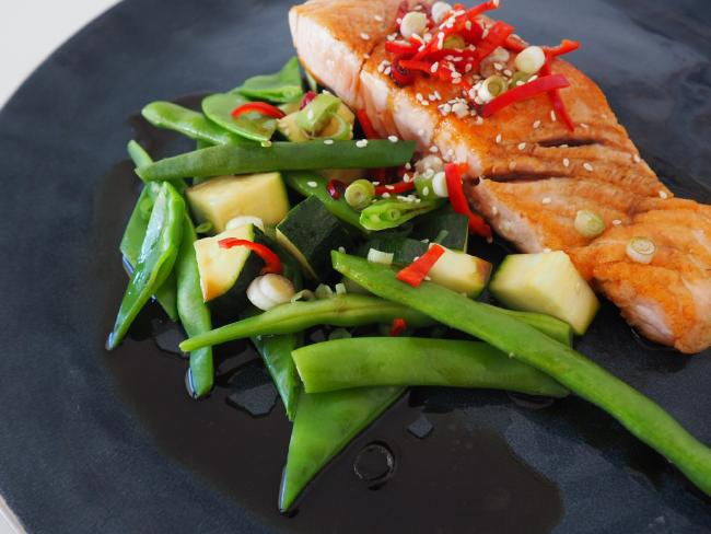 Oily fish, such as salmon, is a good inclusion in your diet. Picture: Diabetes SA