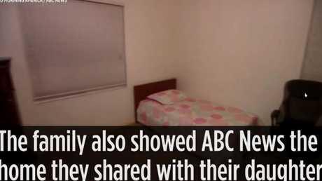 Nasim's bedroom was fairly minimal.