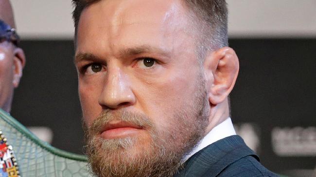 Ultimate Fighting star Conor McGregor.