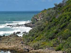 Rescue operation for woman injured off ocean cliffs