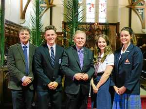 Former High Court judge inspires Toowoomba students