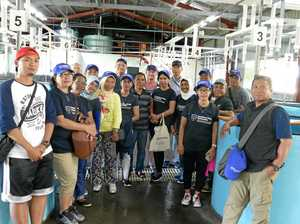 Indonesians on fishing trip for ideas from the Clarence