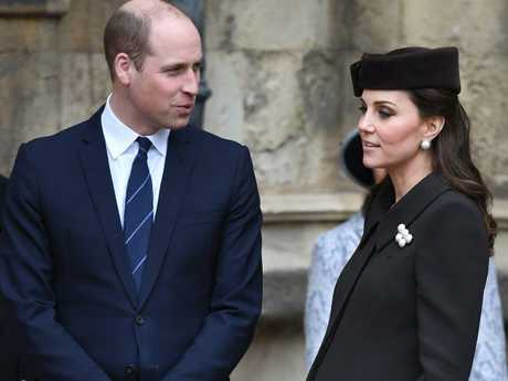 The Duchess of Cambridge is due this month. Picture: James Whatling / MEGA