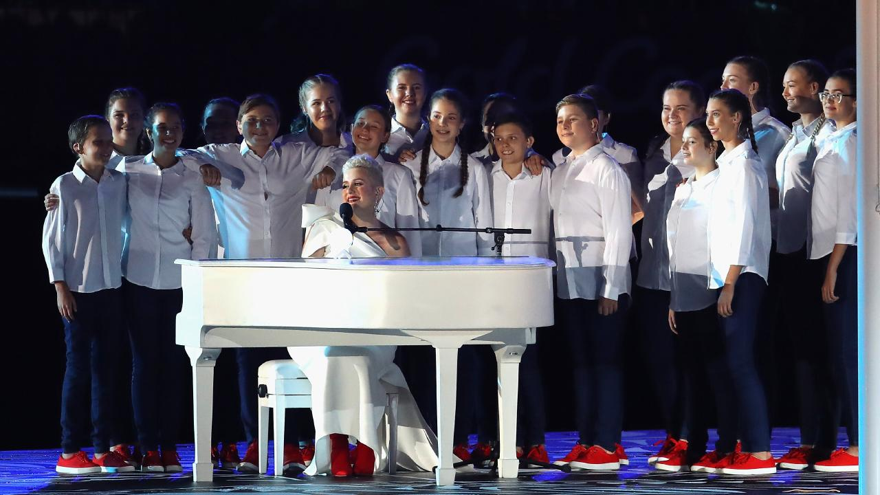 Katie Noonan was one of the big names performaing at the Opening Ceremony for the Gold Coast 2018 Commonwealth Games, but will the Closing Ceremony top it? Picture:  Mark Kolbe/Getty Images