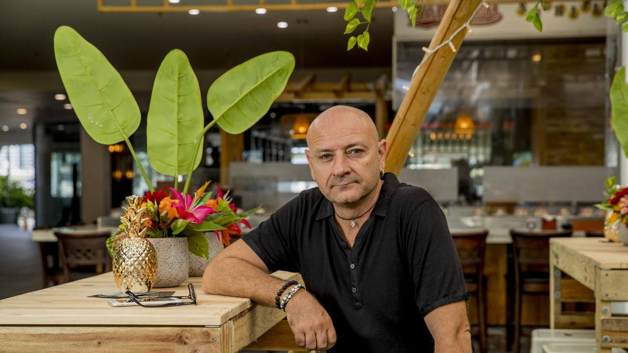 Marina Mirage restaurateur Carlo Percuoco from Fellini says the traffic scare campaign by GOLDOC has hurt his business during the 2018 Gold Coast Commonwealth Games. Picture: Jerad Williams
