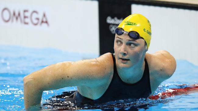 Campbell is out for redemption after her Rio flop in the event. Picture. Brett Costello