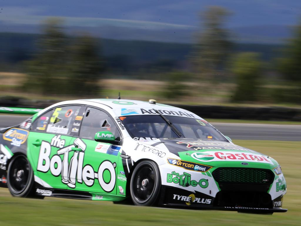 Mark Winterbottom copped a knock in qualifying. Picture Chris Kidd